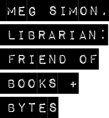 Meg Simon, Librarian Logo